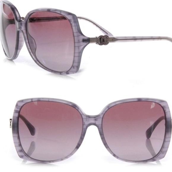 e3528477d Chanel Purple Square Sunglasses. M_5b8603812aa96ad48be15695